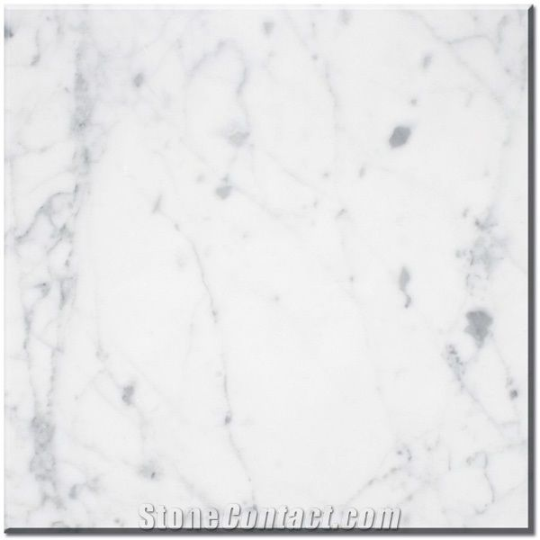 Bianco Carrara Marble Slabs Bianco Carrara Marble Tiles White - Carrara marble tile sizes