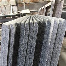China Cheap Grey Granite Prefab Kitchen Countertops, G603 Grey Granite Countertops in Og Finished, Prefabricated Granite Slabs