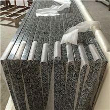 Sea Wave Flower Granite Kitchen Countertops, China Granite Countertops, China Granite Kitchen Tops, Grey Granite Kitchen Tops