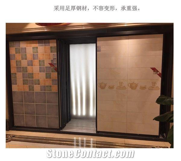 Tile Sample Frame Rotating Ceramic