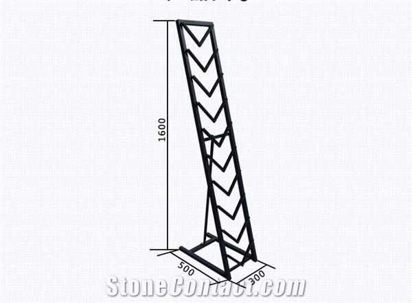Metal Display Stand Racks Quartzite Slabs Stands Ceramic Tile