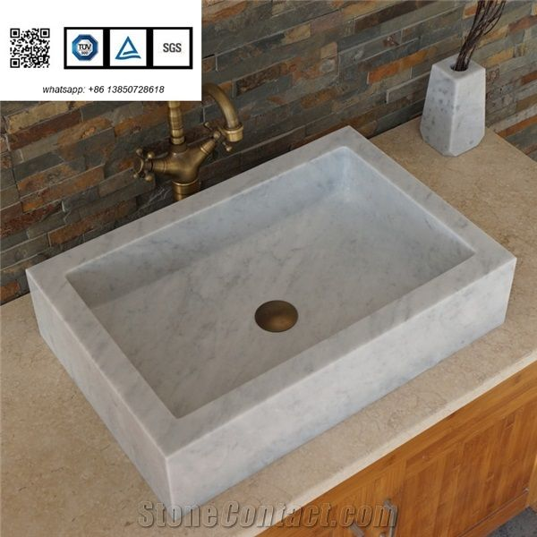 Manmade Stone Basin Bianco Carrarra White Rectangle Sinks for Sale on bathroom stalls for sale, grab bars for sale, tankless water heaters for sale, crane drexel sink for sale, corner sink for sale, bathroom flooring for sale, bathroom vanity for sale, faucets for sale, laundry for sale, bathroom storage for sale, toilet seats for sale, bathroom set for sale, bathroom sink organizer, fixtures for sale, glass for sale, showers for sale, marble for sale, bathroom tile for sale, bathroom toilets for sale, bathroom rug sets on sale,
