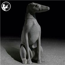 G603/G654 Carved Poodle Dog, Animal Stone Sculpture, Natural China Granite Dog,Stone Animal,Stone Bonsai,Stone Rock,Natural Stone Carving