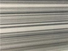 Marmala White Marble,Ruledwhite Marble, Straight Grain White Marble, Ink Wooden Grain Marble, Suit for Slabs, Tiles,Skirting, Wall Covering, Floor Covering, Polished, Cut-To-Size