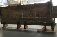 New Brown and Black Marble,Slabs, Tiles, Polished, Swan Cut, for Interior and Exterior Decoration, Wall and Floor Covering, Countertops