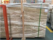 Travertine Jade Slabs & Tiles, Polished Brown Travertine Tiles, Travertine Stone