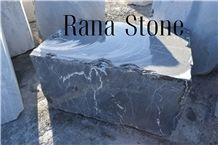 Graphite Marble Block, Pietra Gray, Lashotor Marble, Grey Stone