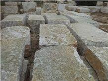 Bianco Perlino, Biancone Asiago, White Perlino Marble Blocks
