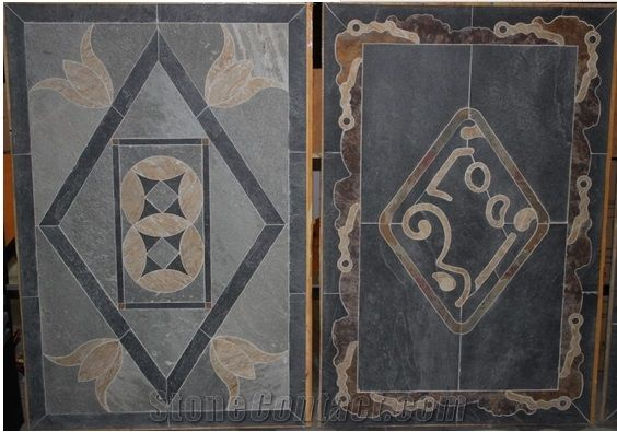 Water Jet Slate Floor Tiles For Sale From China Stonecontact