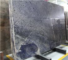 Blue Bahia,Bahia Azul Granite,Tile and Slab,Wall Cladding,A Grade Natural Stone,Own Factory and Quarry Owner with Ce Certificate,Big Gang Saw Slab in Large Stock and Cheap Price,Floor Paving