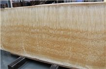 China Honey Yellow Onyx,Tile and Slab,Wall Cladding,A Grade Natural Stone,Own Factory and Quarry Owner with Ce Certificate,Big Gang Saw Slab in Large Stock and Cheap Price,Stone Floor