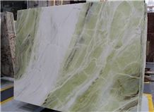 Green Onyx in China Market,Tile and Slab,Wall Cladding,A Grade Natural Stone,Own Factory and Quarry Owner with Ce Certificate,Big Gang Saw Slab in Large Stock and Cheap Price,Floor