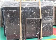 Ice Black Marble China Marble,Tile and Slab,Wall Cladding,A Grade Natural Stone,Own Factory and Quarry Owner with Ce Certificate,Big Gang Saw Slab in Large Stock and Cheap Price,Floor Paving
