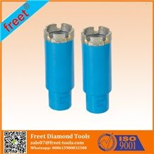 Vacuum Brazed Diamond Tools Drill Bits for Stone Drilling