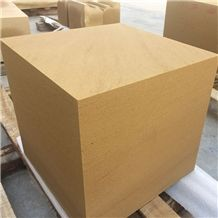 Golden Color Sandstone Blocks Chinese Stone for Walls and Floor