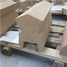 Sichuan Yellow Wood Sandstone Sculpture Stone Quoin for Building