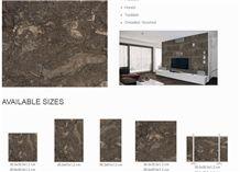 Deep Ocean Beige Wall and Floor Tiles
