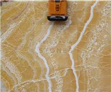 Orange Onyx Polished 2cm Slabs