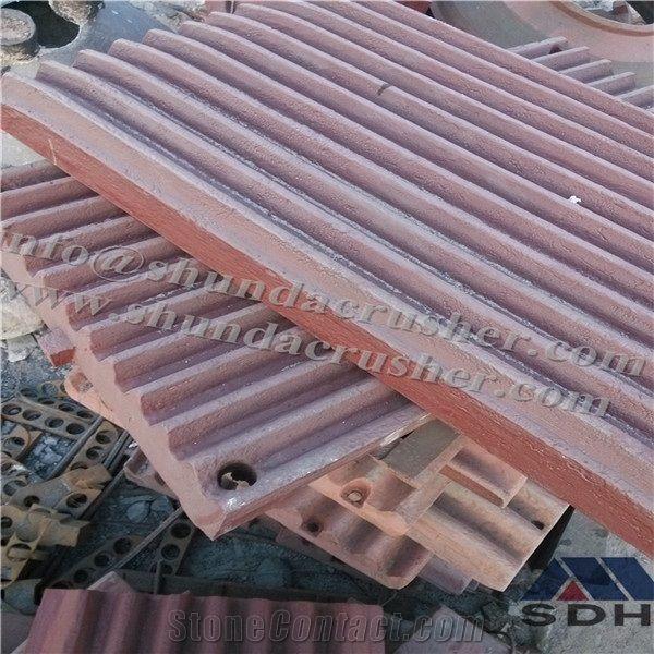 Stone Crusher Equipment Sandvik JM series Jaw Plate Use in Jaw
