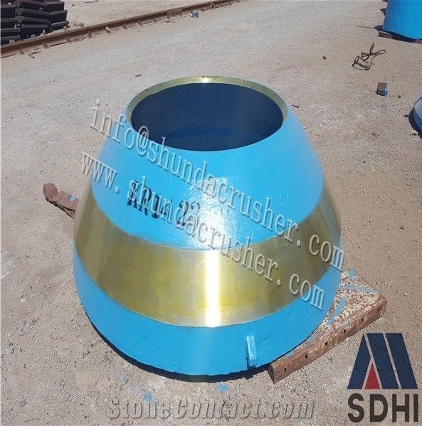 Stone Crusher Parts Cone Metso HP series Crusher Parts