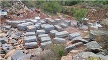 Srikakulam Blue Granite Blocks