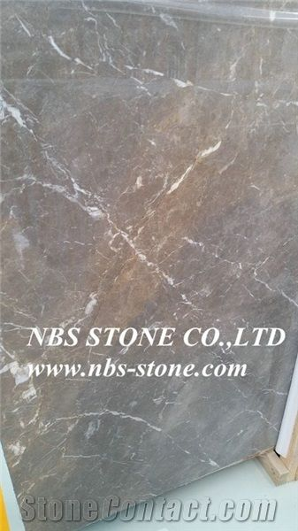 Cyprus Grey Marble,Polished Slabs Tiles for Wall and Floor