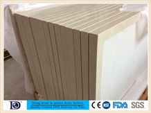 Beige Marble Vein Quartz Kitchen Countertop Factory,2+2cm Polished Engineered Quartz Kitchen Bar Top,Artificial Marble Countertop from Doingstone.Solid Surface Quartz Stone for Kitchen Top