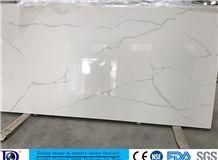 Calacatta White Quartz in China,Polished Calacatta White Engineered Quartz for Kitchen,2cm Solide Surface Calacatta White Quartz Slabs for Countertop,3cm Calacatta White Quartz Slabs in Usa7404