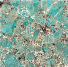 Amazon Green, Marble Tiles & Slabs, Marble Skirting, Marble Wall and Floor Covering Tiles, Brazil Multicolor Marble