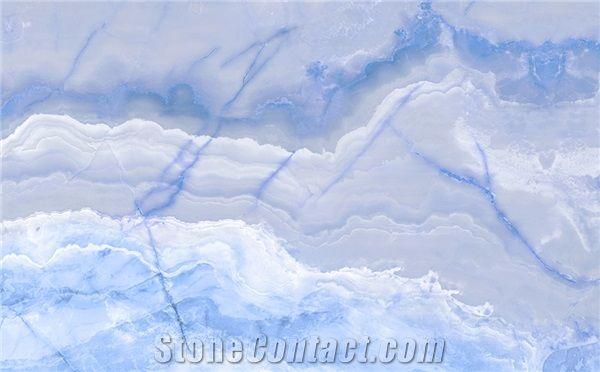 Blue Onyx Onyx Tiles Slabs Onyx Floor Tiles Onyx Wall