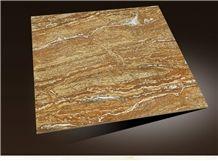 French Rivers Azarshahr Walnut Travertine, Travertine Tiles & Slabs, Travertine Floor and Wall Tiles, Iran Yellow Travertine
