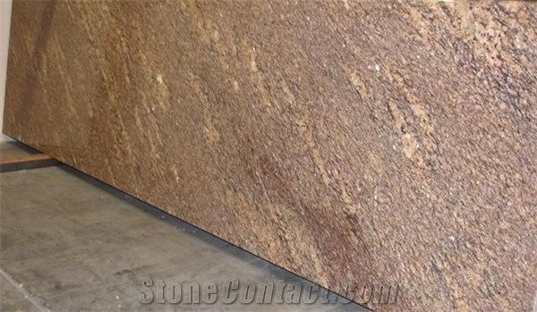 Giallo California Granite Wall And Floor Covering