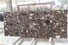 Brown Color China Palladio Granite Slabs & Tiles