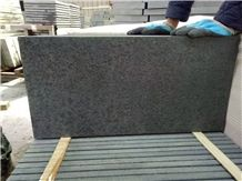Chinese New G684 Granite Slabs &Tiles China Black Granite Honed & Flamed Finishing/ Special Shape Tiles/ Stripes/Project Tiles