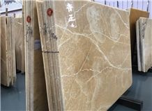 Chinese Yellow Onyx Big Slabs/ Project Tiles/Household Decoration/Walling/Flooring