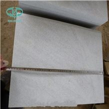 China White Pool Coping Sandstone Tiles for Paving Stone Wall Cladding