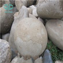 Landscaping Garden Large Cobble Stone , Decorative Garden Pebble Stone