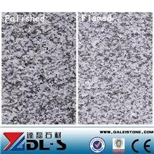 China New G603 Bianco Crystal Flamed Polishing Silver Grey Granite Flag Slab,Thin Tiles, Flooring Wall Covering, Big Random Cheap Price Natural