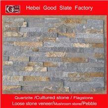 Rusty with Blue Quartzite Ledge Stone