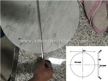 60/80/100 cm Dia Carrara Marble Round Coffee Table ,Dinning Table Tops Prices