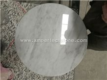 A Quality Bianco Carrara White Marble Round Kitchen Table / Marble Coffee Table 60 /80/100 Dia /25+ Marble Circle Table / White Marble Dining Table Set / Marble Furniture