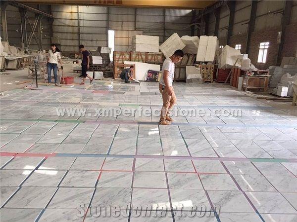 Bianco Carrara Marble Tile White Marble Tile Floor White Marble