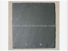 Black Roof Covering, Black Slate, Roof Tile, Roof Coating, China Cheap Roof Tile
