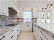 Blue Marble.Marble Kitchen Countertop