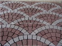 Cheap Granite Cobblestone Pavers / Pavers Walkway from China / Cobblestone M2 Price / Granite Cobblestone Paver for Sale / Outside Paving Stones / Walkway Paving Stones