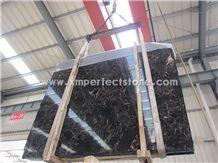 China Portoro Gold Marble Slabs/China Portoro Marble Big Slab/Polished Vendome Noir Marble