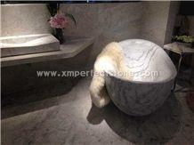 Chinese Abba Grey Marble / Marble Bathtubs / Grey Natural Stone Bath Tub / Solid Surface Bathtub