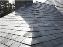 Chinese Black Roof Slate, Roof Stone Covering & Tiles for Sale, Natural Stone for Home Decoration