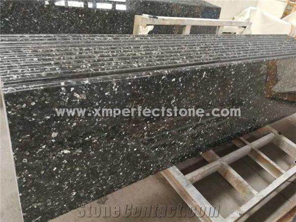 Emerald Pearl Granite Prefeb Countertops 2 Cm / Granite Countertops  Bullnose Edge / Green Laminate Countertop / Kitchen Granite Tops