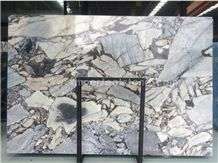 New Quarry Stone Factory Directely Silver Blue Light Color Marble Big Slab,Cut Size, Floor Tile,Wall Cladding,Countertop Polished Competitive Price Natural Luxury Building Project Material